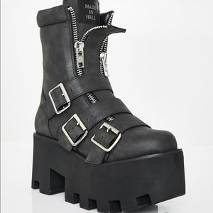 Current mood Detroit platform boots SZ 8